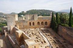 Palácio de Granada Imagem de Stock Royalty Free