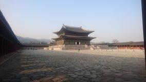Palácio de Gyeongbok, Séoul, nivelando fotografia de stock royalty free