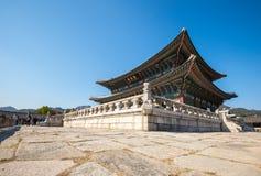 Palácio de Gyeongbokgung Imagens de Stock Royalty Free