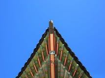 Palácio de Gyeongbokgung do detalhe do telhado Foto de Stock