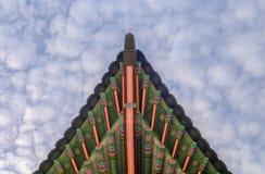 Palácio de Gyeongbokgung em Seoul, Coreia fotografia de stock