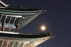 Palácio de Gyeongbokgung em Seoul, Coreia do Sul imagens de stock royalty free