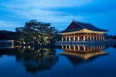 Palácio de Gyeongbokgung em Seoul, Coreia do Sul foto de stock royalty free