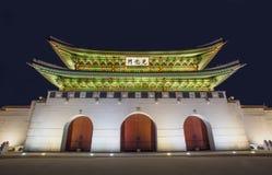 Palácio de Gyeongbokgung em Seoul Coreia do Sul fotografia de stock