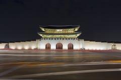 Palácio de Gyeongbokgung em Seoul Coreia do Sul fotos de stock royalty free