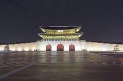Palácio de Gyeongbokgung em Seoul, Coreia do Sul fotos de stock