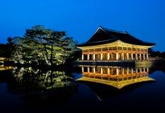 Palácio de Gyeongbokgung em Seoul, Coreia do Sul fotos de stock royalty free