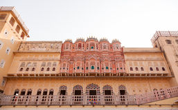 Palácio de Hawa Mahal, Jaipur, Rajasthan, Índia Fotografia de Stock Royalty Free