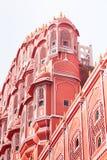 Palácio de Hawa Mahal, Jaipur, Rajasthan, Índia Imagens de Stock Royalty Free