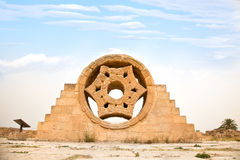 Palácio de Hisham em Jericho. Israel foto de stock royalty free