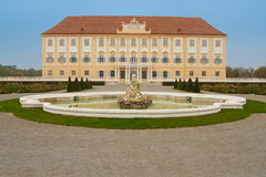 Palácio de Hof em Áustria Imagens de Stock Royalty Free