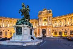 Palácio de Hofburg em Viena, Áustria fotografia de stock royalty free