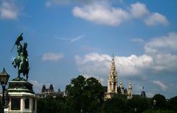 Palácio de Hofburg em Viena, Imagens de Stock