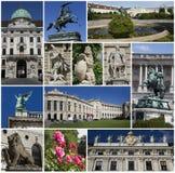 Palácio de Hofburg, Viena, Áustria Imagem de Stock Royalty Free