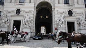 Palácio de Hofburg - Viena filme