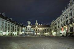 Palácio de Hoffburg em Viena Fotografia de Stock Royalty Free