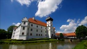 Palácio de Hohenkammer video estoque