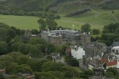 Palácio de Holyrood em Edimburgo Imagem de Stock