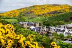 Palácio de Holyroodhouse em Edimburgo imagem de stock