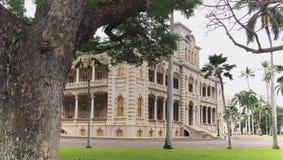 Palácio de Iolani Fotografia de Stock