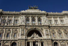 Palácio de justiça em Roma, Itália Fotografia de Stock Royalty Free