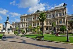 Palácio de justiça, Roma, Itália imagem de stock royalty free