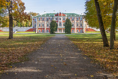 Palácio de Kadriorg em Autumn Tallinn Fotografia de Stock Royalty Free