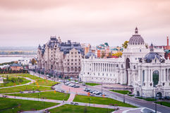 Palácio de Kazan dos fazendeiros fotografia de stock