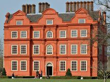 Palácio de Kew, jardins de Kew, Reino Unido Imagens de Stock