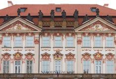 Palácio de Kinsky Imagem de Stock Royalty Free