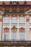 Palácio de Kinsky Fotos de Stock Royalty Free