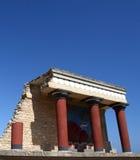 Palácio de Knossos foto de stock