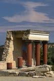 Palácio de Knossos foto de stock royalty free