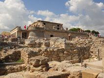 Palácio de Knossos Imagem de Stock Royalty Free