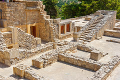 Palácio de Knossos Crete, Greece Imagem de Stock