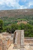 Palácio de Knossos na Creta, Grécia Imagem de Stock Royalty Free