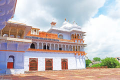 Palácio de Kota e terras india fotografia de stock royalty free