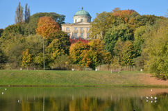 Palácio de Krolikarnia em Varsóvia Foto de Stock Royalty Free