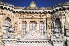 Palácio de Kucuksu em Istambul Foto de Stock Royalty Free