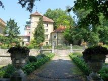 Palácio de Lancut, Polônia Foto de Stock