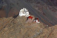 Palácio de Leh, Índia imagens de stock