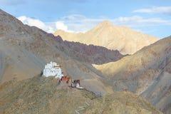 Palácio de Leh Ladakh, Índia Fotografia de Stock