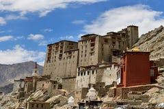 Palácio de Leh na cidade de Leh em Ladakh Fotos de Stock