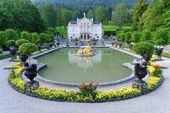 Palácio 03 de Linderhof, Alemanha Foto de Stock