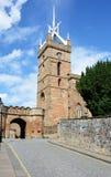 Palácio de Linlithgow, igreja Fotografia de Stock Royalty Free