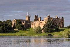 Palácio de Linthithgow no nascer do sol imagens de stock royalty free