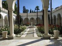 Palácio de Livadia, península crimeana fotografia de stock