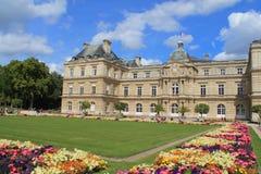 Palácio de Luxembour em Paris Fotos de Stock