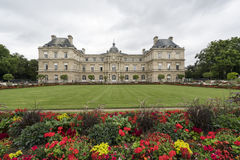 Palácio de Luxembourg em Paris fotos de stock