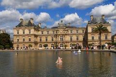 Palácio de Luxembourg em Paris, France Imagem de Stock Royalty Free